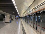 Kowloon Station platform 19-05-2021