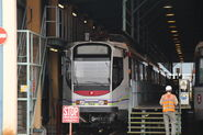 LRT Depot Service Pit Train Ph4