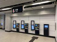 Diamond Hill Tuen Ma Line Phrase 1 concourse ticket machine 14-02-2020