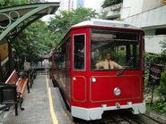 Peak Tram Riding