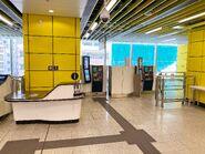 Wong Chuk Hang information desk and SSP 03-05-2020