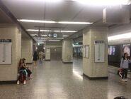 Yau Ma Tei Station platform (before Kwun Tong Line extension operate)