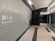 Diamond Hill Tuen Ma Line Phase 1 platform 21-03-2020