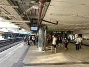 Kowloon Tong East Rail Line platform 17-08-2021