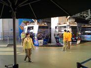 Ngong Ping 360 cable car ready leave Ngong Ping Station(2)