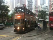 Hong Kong Tramways 66 Happy Valley to Kennedy Town 21-03-2014