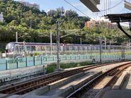 R Train MTR East Rail Line in near Hin Keng Station 23-08-2021
