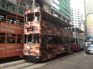 Hong Kong Tramways 129 2