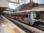 MLR train in Sha Tin Station East Rail Line 06-06-2015(7)