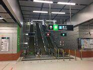 Austin Exit B escalator