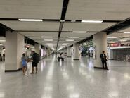 Hong Kong Station concourse 13-10-2021