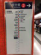 Lai Chi Kok Station Tsuen Wan Line board 21-05-2017