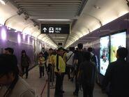 Sai Ying Pun Exit B to concourse corridor 29-03-2015(1)