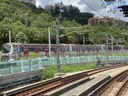 MLR run MTR East Rail Line near Hin Keng 02-09-2021