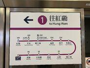 West Rail Line route map 10-10-2020