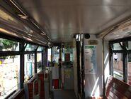 香港電車 98 下層內觀