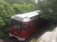 Peak Tram near The Peak station 16-10-2016