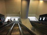 Hong Kong West Kowloon long escalator