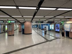 Kowloon Tong East Rail Line concourse 13-10-2021.JPG