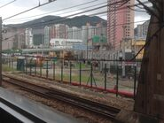 MTR Train in or out Chai Wan Depot 10-06-2016