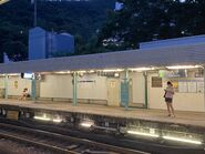 MTR University Station platform 03-10-2021