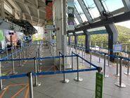 Ngong Ping 360 queue up lines