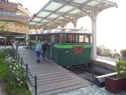 Old Peak Tram for customer service counter in 2015
