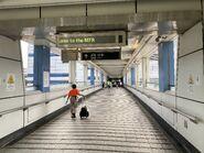 Olympic Station footbridge 12-06-2020