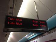 MTR West Rail Line PIDS 30-04-2016