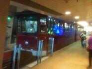 Peak Tram in The Peak Station