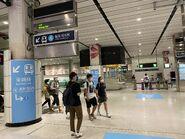 Hung Hom interchange corridor 13-08-2021