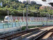 MLR Train run MTR East Rail Line near Hin Keng Station 16-08-2021(2)
