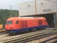 MTR 8001 Train car 27-06-2019