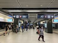 Diamond Hill Tuen Ma Line platform 06-07-2021