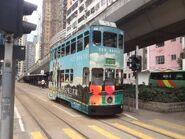 Hong Kong Tramways 53(140) Shau Kei Wan to Happy Valley 08-05-2015