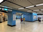 Kowloon Tong Kwun Tong Line concourse 2 18-04-2020