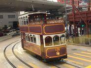 Hong Kong Tramways 128 24-12-2018