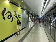 Ho Man Tin Tuen Ma Line platform 19-08-2021