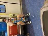 MTR Tuen Ma Line compartment 10-07-2021