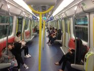 Ma On Shan Line compartment