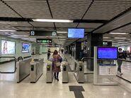 Diamond Hill Kwun Tong Line entry gate 14-02-2020