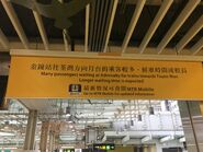 MTR remind passengers Admiralty to Tsuen Wan maybe wait very long time
