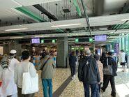 Chai Wan exit gate 13-04-2020