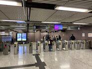 Causeway Bay entry gate 19-03-2020