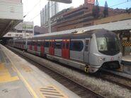 East Rail Line train copartment 102 is first car 28-11-2015