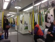 South Island Line compartment(B903) 29-12-2016