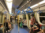 MTR Tuen Ma Line compartment 02-09-2021