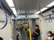 Tuen Ma Line train compartment 27-06-2021