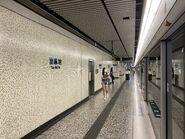 Yau Ma Tei platform 01-09-2021