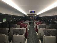 MTR XRL 1st class compartment 2